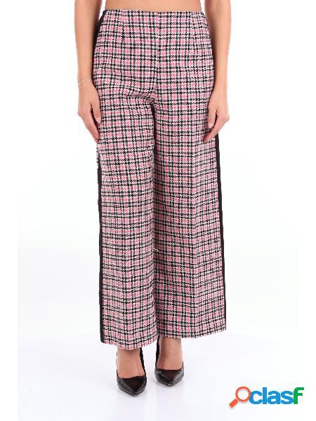 JUCCA JUCCA - PANTALONE Pantalone Donna Beige nero e rosa