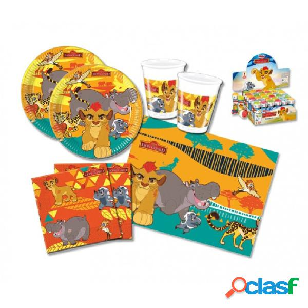 KIT N 5 - SET TAVOLA RE LEONE THE LION GUARD - IL RITORNO