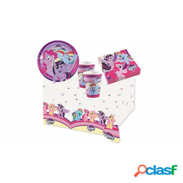 KIT N3 121 PZ COMPLEANNO MY LITTLE PONY
