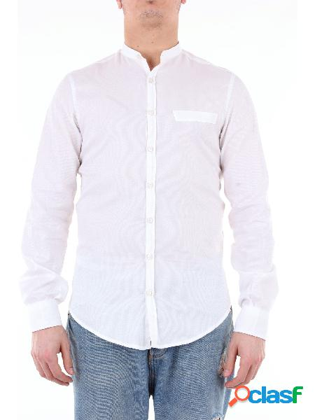KOON koon camicia di colore bianco con maniche lunghe
