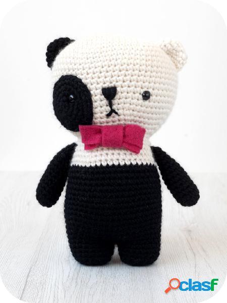 Kit Amigurumi - Livello: facile / intermedio Panda - 1 pz.