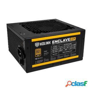 Kolink Enclave 700W Modulare 80+ Gold PFC Attivo ATX