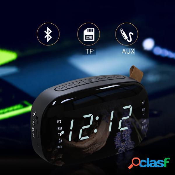 LED FM Radio Sveglia digitale con spegnimento automatico