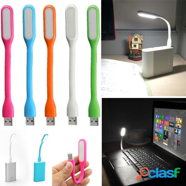 LED lampada USB pieghevole in silicone