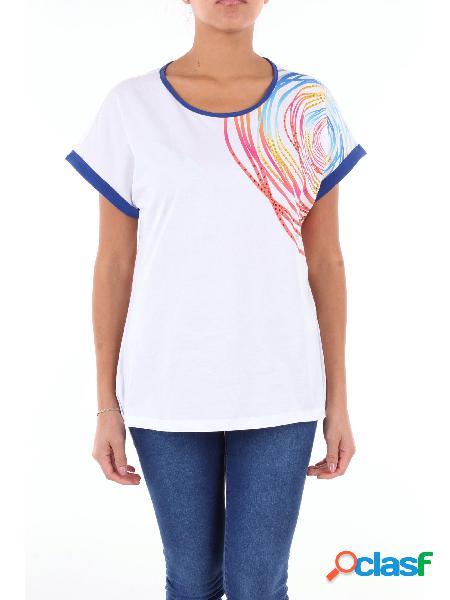 LUISA VIOLA Luisa Viola t-shirt maniche corte bianco