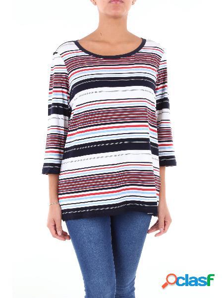 LUISA VIOLA Luisa Viola t-shirt multicolor con maniche a 3/4