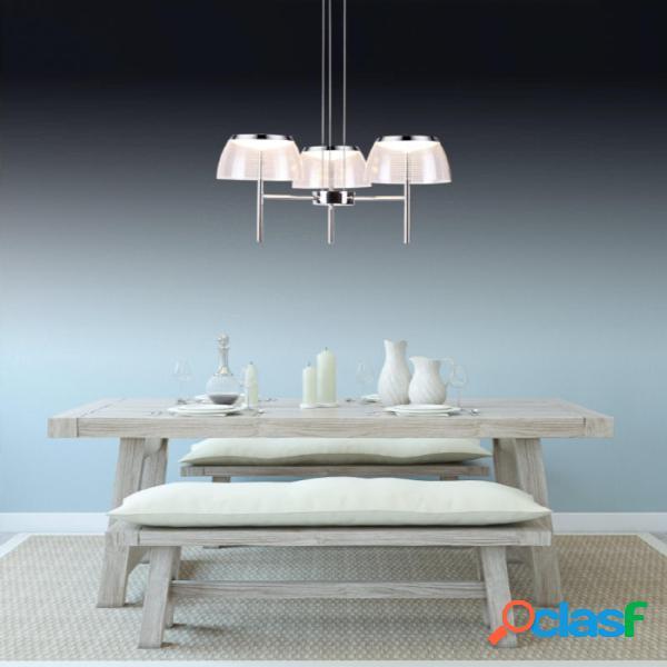 Lampada Da Soffitto LED TORCH in Alluminio e Policarbonato