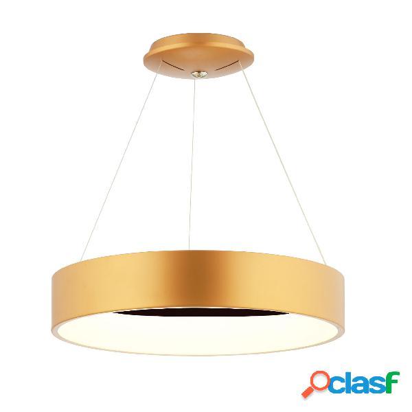 Lampada a sospensione a LED WING in acciaio e policarbonato