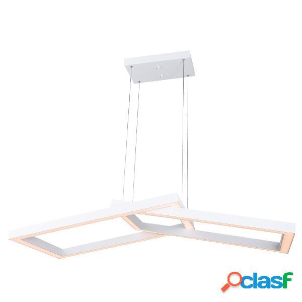 Lampada a sospensione a LED balance in acciaio e