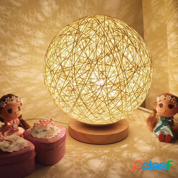 Lampada da tavolino da notte della sfera della sfera del