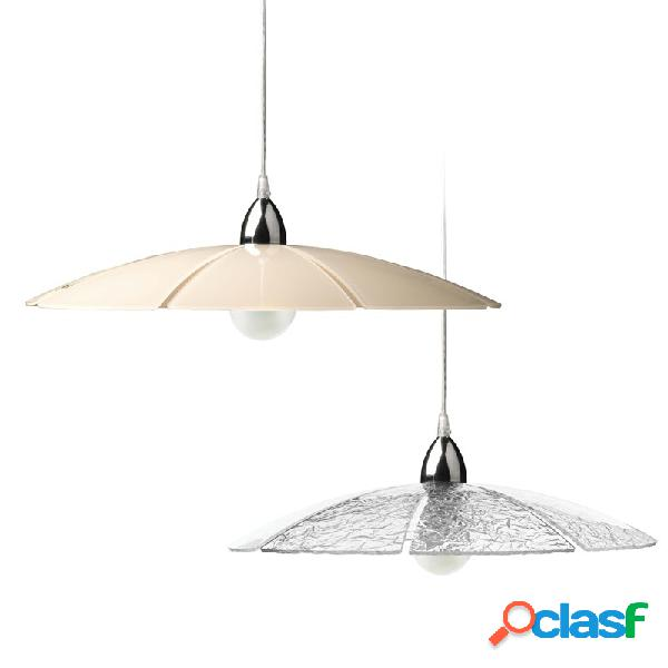 Lampadario a sospensione UMBRELLA diametro 65 cm in plexi
