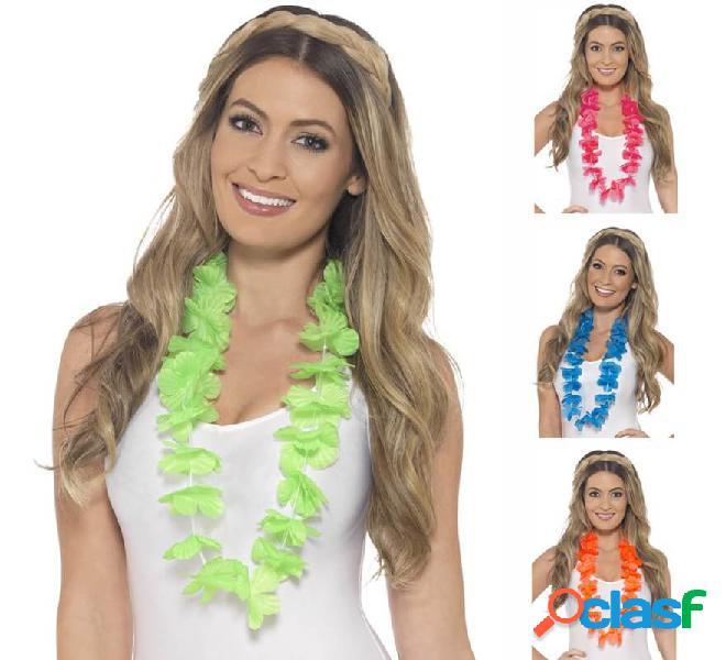 Lei hawaiana in vari colori