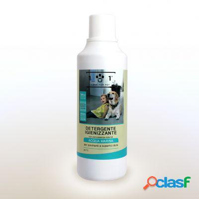 Love for pet detergente igienizzante pavimenti acqua marina