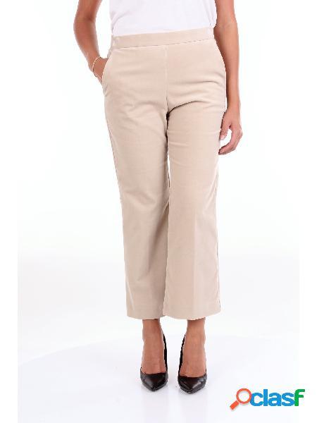 MALIPARMI MALIPARMI - PANTALONE Pantalone Donna Beige