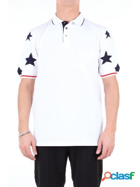 MQJ MQJ - POLO Polo Maniche Corte Uomo Bianco