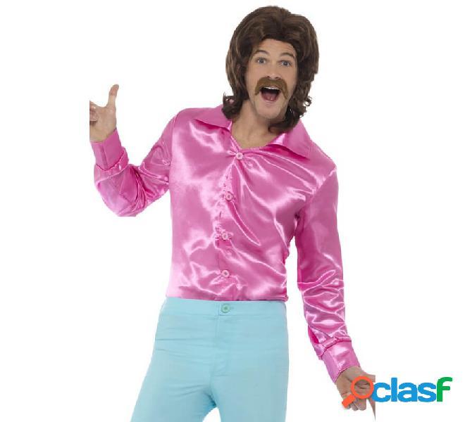 Maglia degli anni '60 - 70 rosa per gli uomini