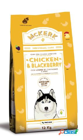 Mckerk cane exicare medium-maxi pollo & more kg 12