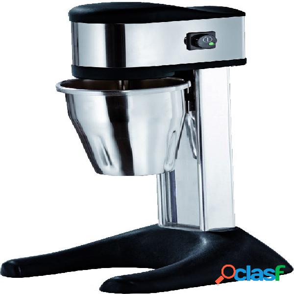 Mixer frappè 1 bicchiere in acciaio inox - potenza 150 W -
