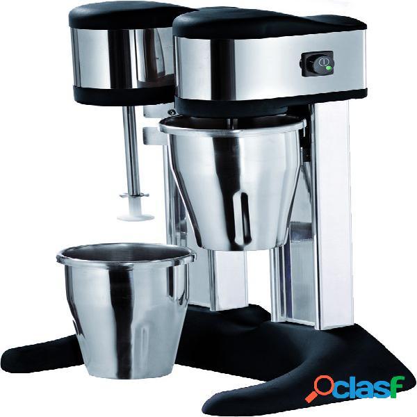 Mixer frappè 2 bicchieri in acciaio inox - potenza 150 +