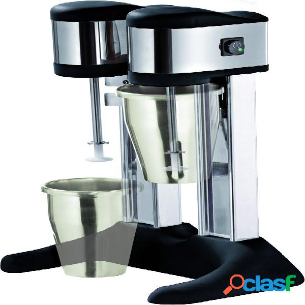 Mixer frappè 2 bicchieri in policarbonato - potenza 150 +
