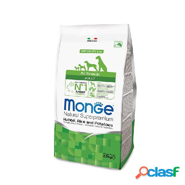 Monge - Monge All Breeds Adult Coniglio, Riso E Patate Per