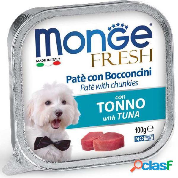 Monge fresh cane gr 100 paté e bocconcini con tonno