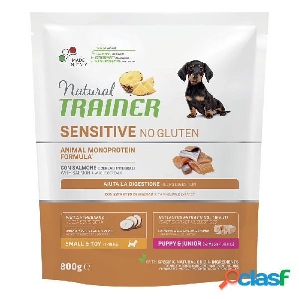 Natural Trainer Sensitive No Gluten Small & Toy Puppy &