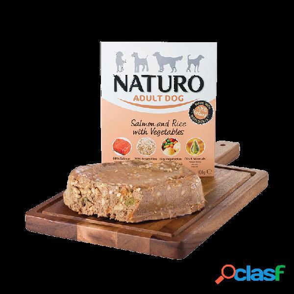 Naturo - Naturo Adult Umido Per Cani Adulti 8x400 Gr Salmone
