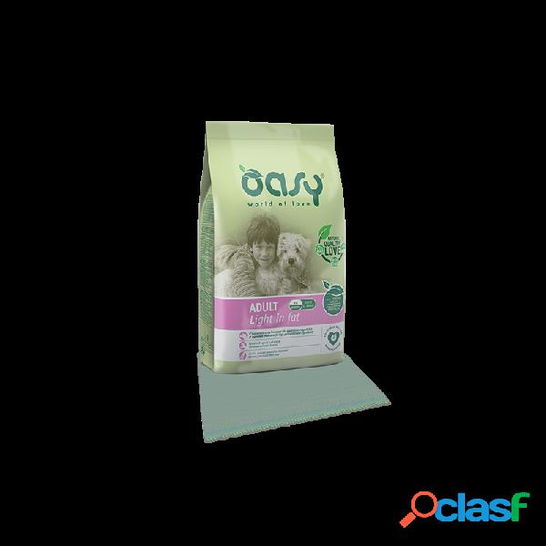 Oasy - Oasy Adult Light In Fat Per Cani Sacco Da 3 Kg