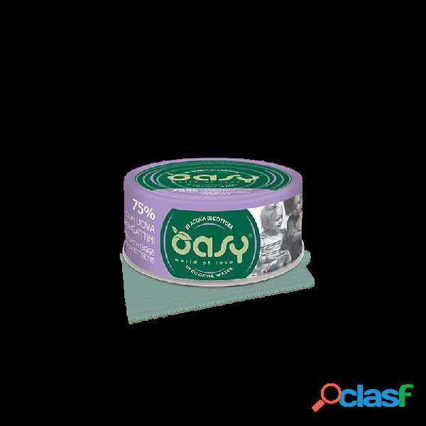 Oasy - Oasy More Love Kitten Per Gattini 12x70 Gr Pollo E