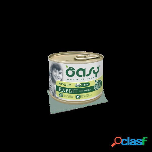 Oasy - Oasy One Protein Mini Umido Per Cani 6 Lattine Da 200