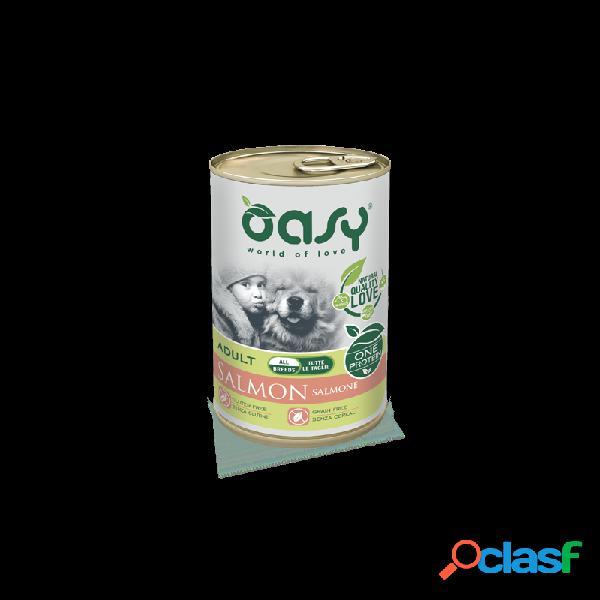 Oasy - Oasy One Protein Umido Per Cani 6 Lattine Da 400 Gr