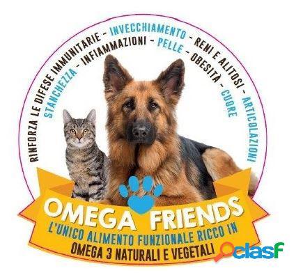 Omega friends - omega3 - mangime complementare per cani e