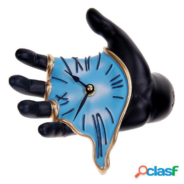 Orologio da Parete WALL CLOCK HAND 20x9xh19 cm in resina