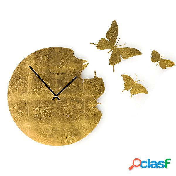Orologio da parete Butterfly Ø48x2 cm cassa in metallo