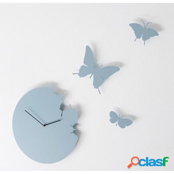 Orologio da parete Butterfly diametro 40 rotondo Colore