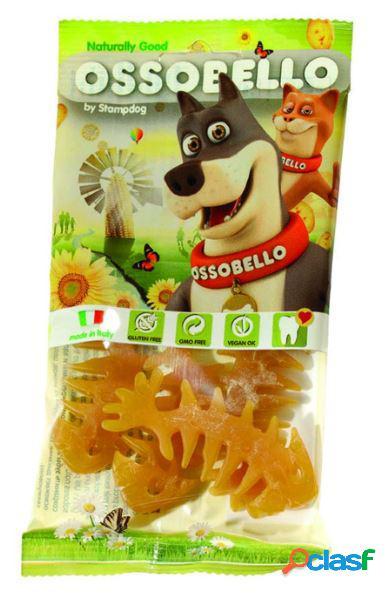 Ossobello snack per cani 4 x 10 gr fishcat giallo
