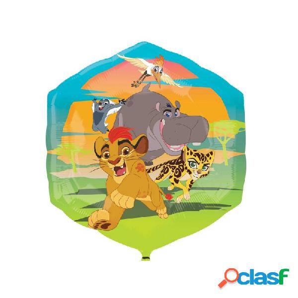 PALLONCINO SUPERSHAPE RE LEONE THE LION GUARD - IL RITORNO