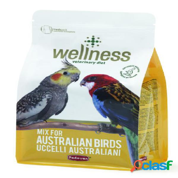 Padovan wellness australian birds gr.850 (mix per uccelli