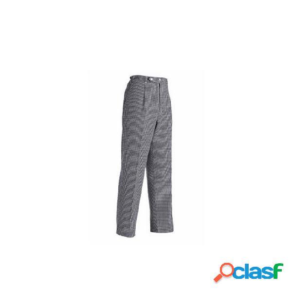 Pantalone Unisex Chef In Cotone E Poliestere A Scacchi