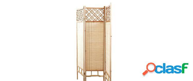 Paravento giapponese in pino e bamb NEW NIHA