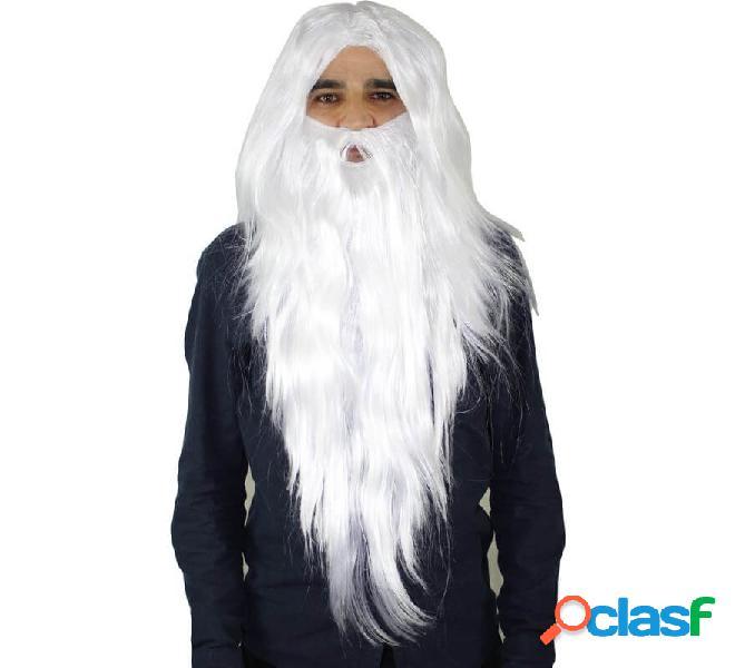 Parrucca da mago capelli e barba