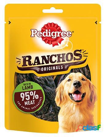 Pedigree ranchos snack per cani gr 70 agnello