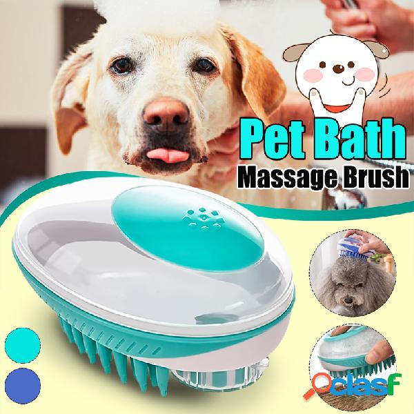 Pet Pennello Vasca da bagno Massaggio Pennello Vasca