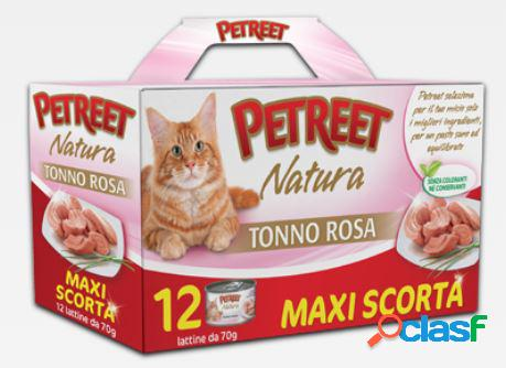 Petreet natura tonno rosa 12 x 70 gr maxi scorta / multipack