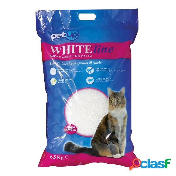 Petup WhiteLine lettiera silicio 6,5 kg
