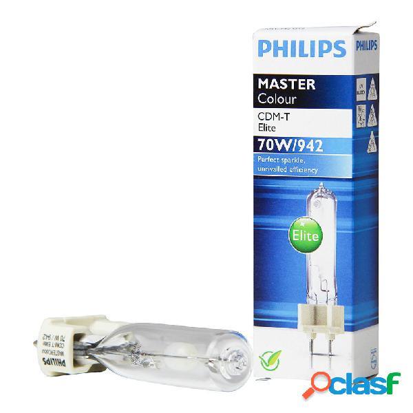Philips MASTERColour CDM-T Elite 70W 942 G12 | Bianco Freddo