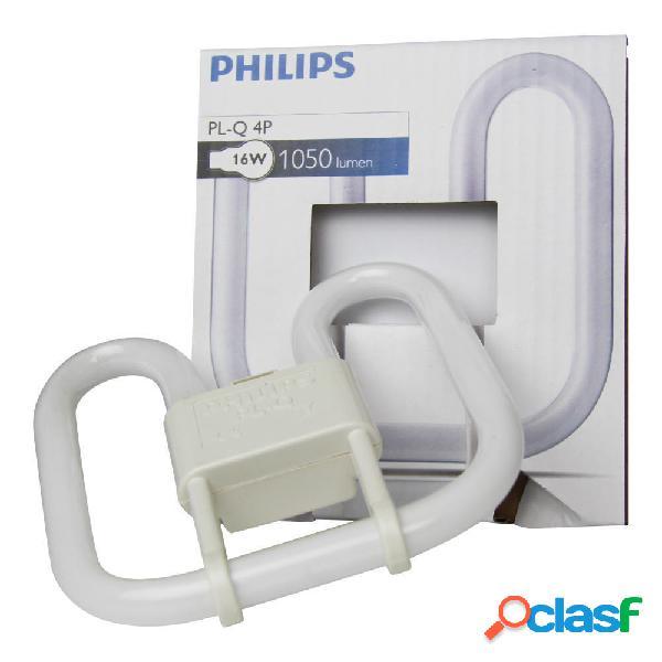 Philips PL-Q 16W 830 4P (MASTER) | Luce Calda - 4-Pin
