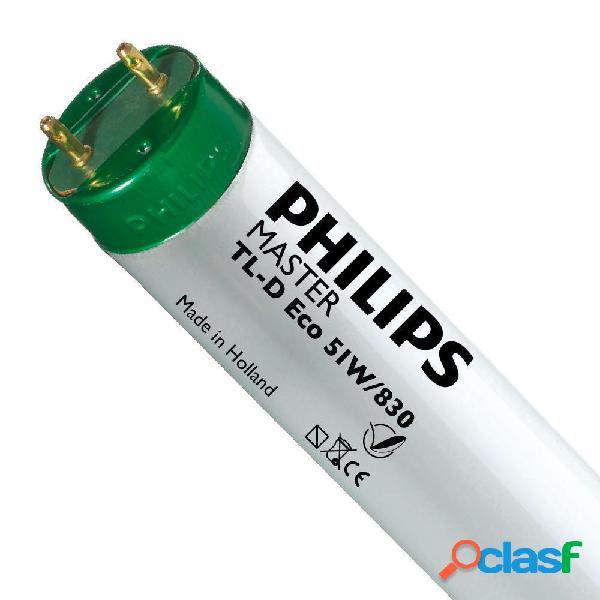 Philips TL-D Eco 51W 830 (MASTER) | 150cm - Luce Calda