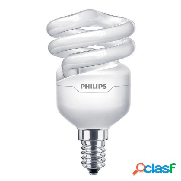 Philips Tornado T2 Spiral 12W 827 E14 | Bianco Molto Caldo